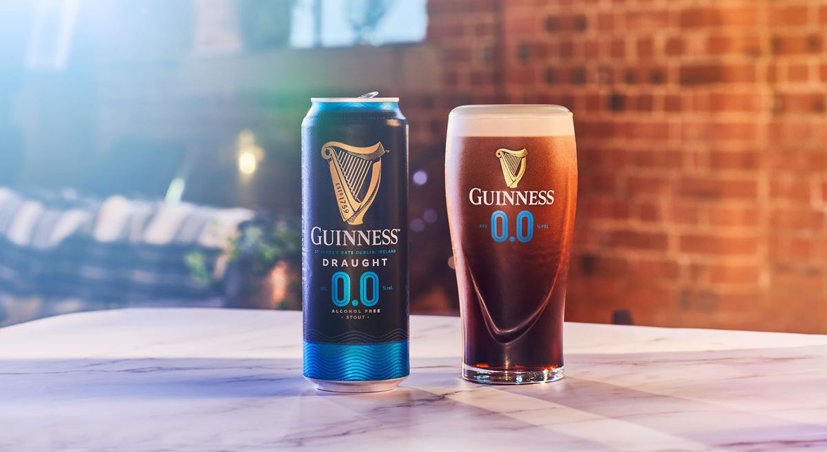 Guinness sin alcohol
