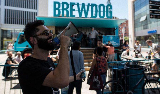 BrewDog regalando cerveza