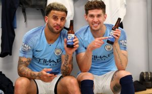 cerveza del Manchester City