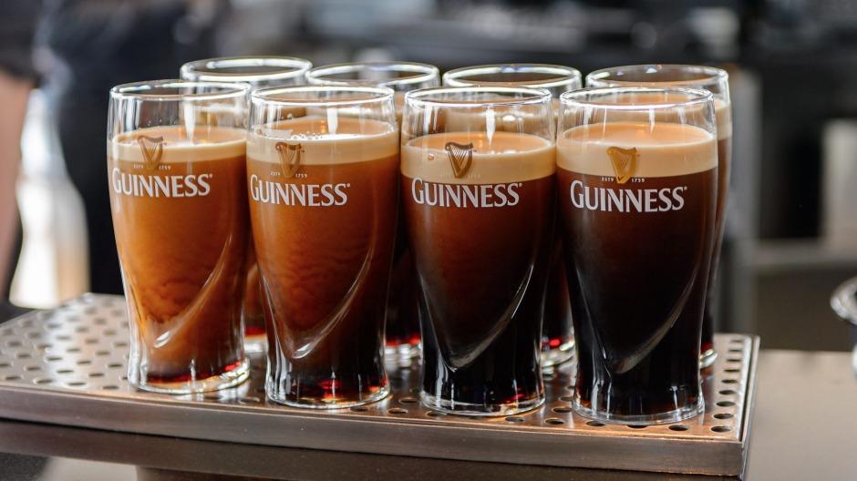 Guinness sabe mejor en Irlanda