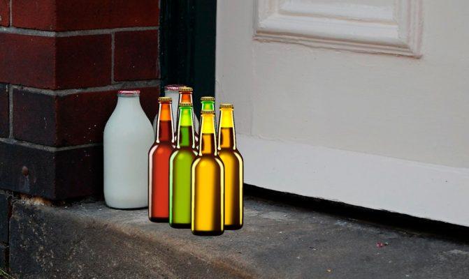 lechero cerveza Londres