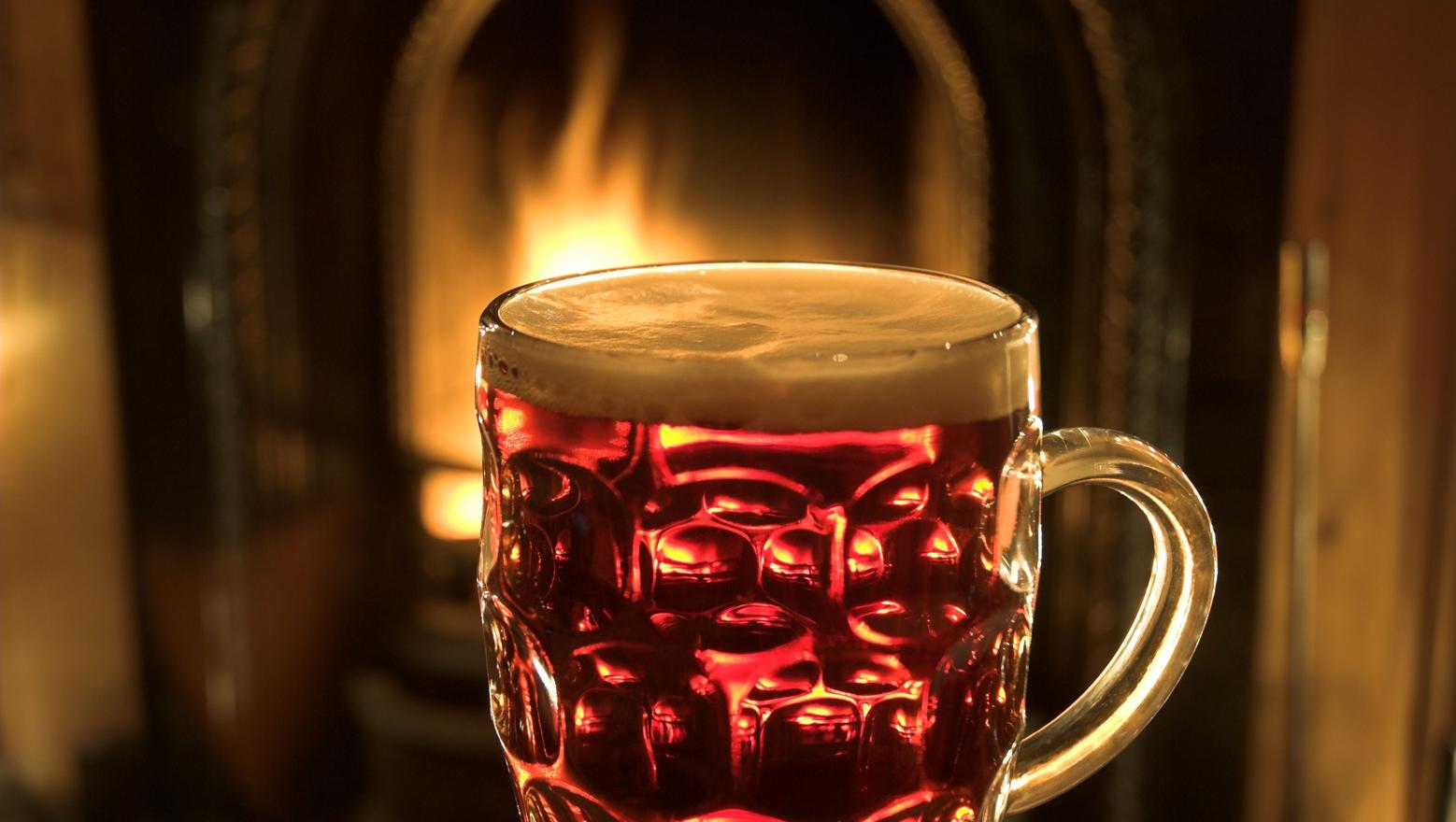 cerveza winter warmer