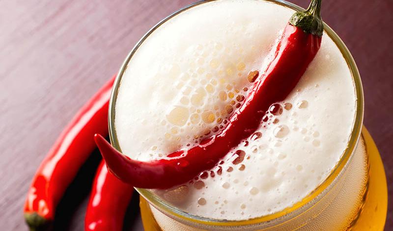 cerveza con chile