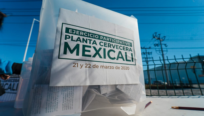 Mexicali planta cervecera Constellation Brands