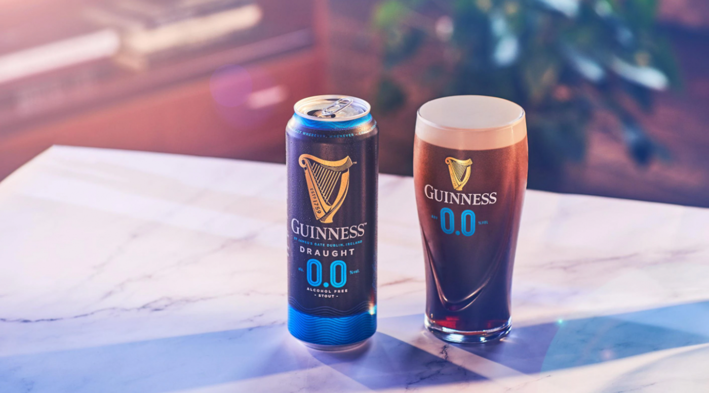 Guinness retira cerveza sin alcohol