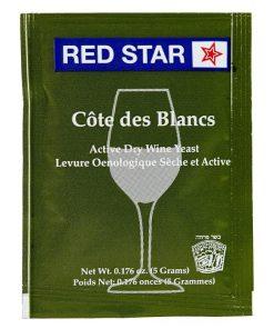 levadura para vino blanco red star cotes des blancs