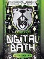 Digital Bath la nueva cerveza de Deftones
