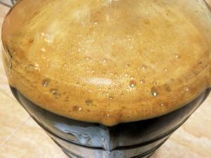 fermentación de cerveza casera