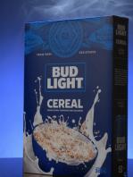 cereal sabor cerveza de Bud Light