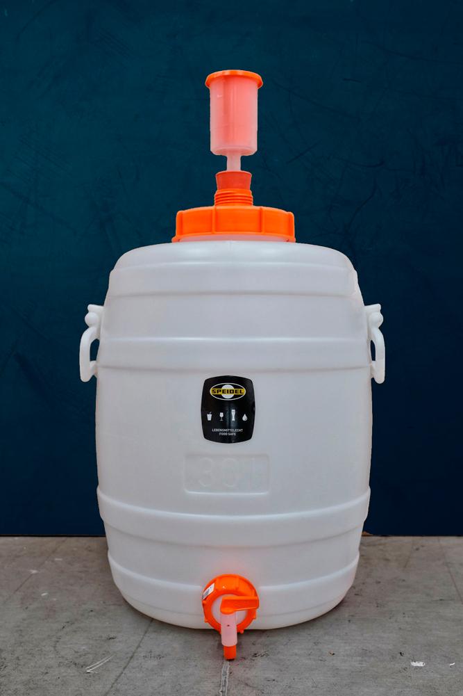 Fermentador de plástico Speidel 30L