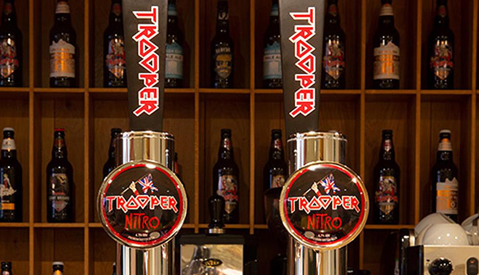 versión en barril de la cerveza Trooper