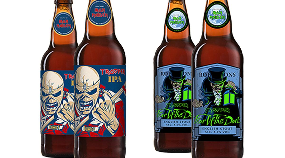 Iron Maiden cerveza Trooper IPA Stout