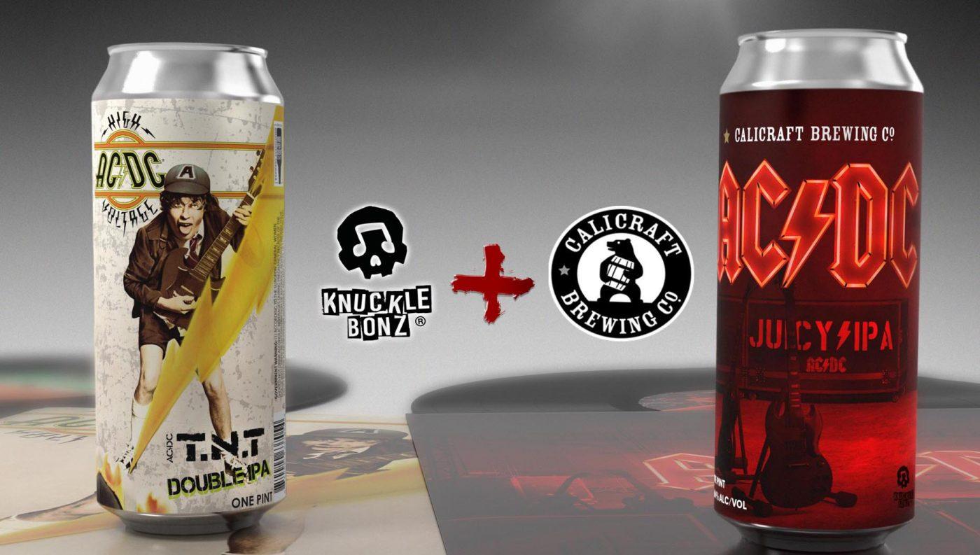 cervezas artesanales de AC/DC