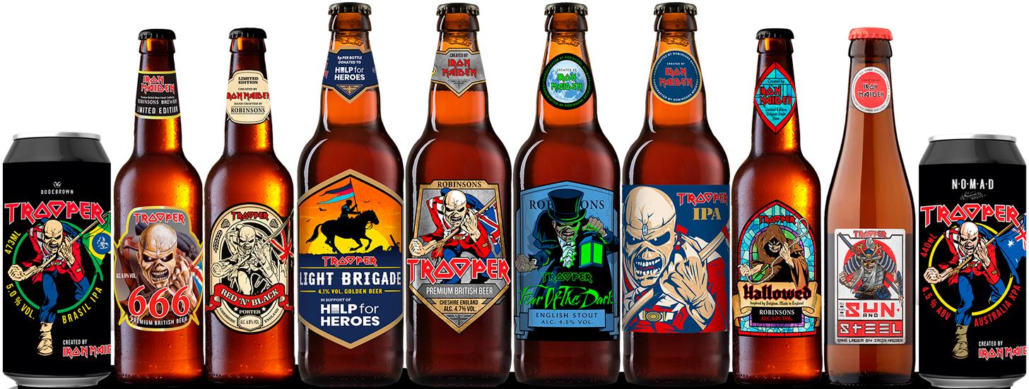 bandas que tienen su propia cerveza