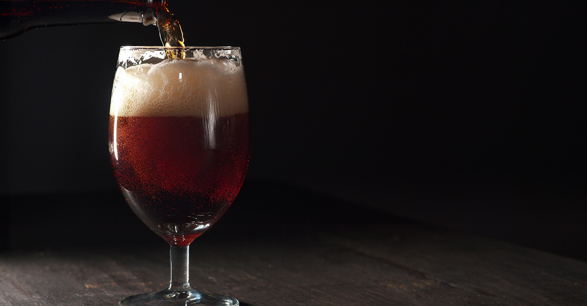 barley wine inglés