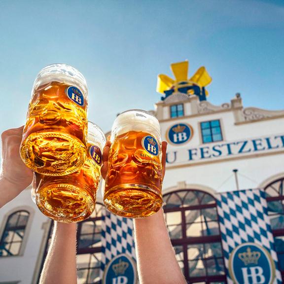 cervecerías del Oktoberfest