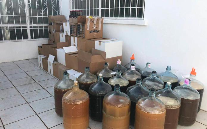 clausuran laboratorio clandestino de cerveza