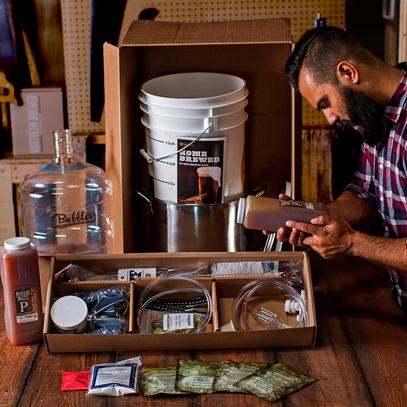 elaboración de cerveza artesanal