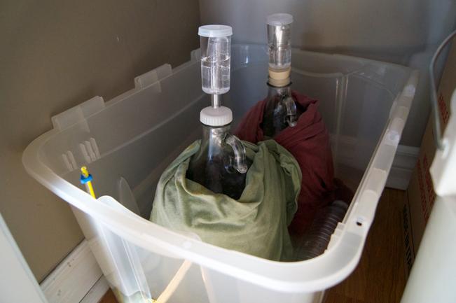 controlar la temperatura de fermentación en la cerveza