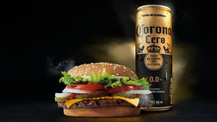 Burger King México cerveza