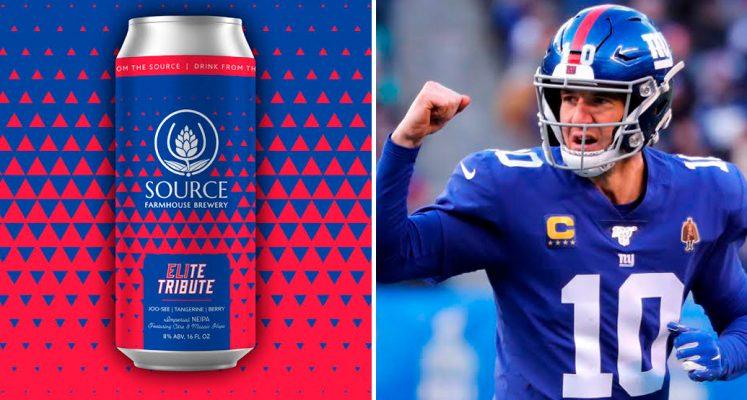 cerveza oficial de Eli Manning
