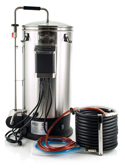 Grain father brewing system