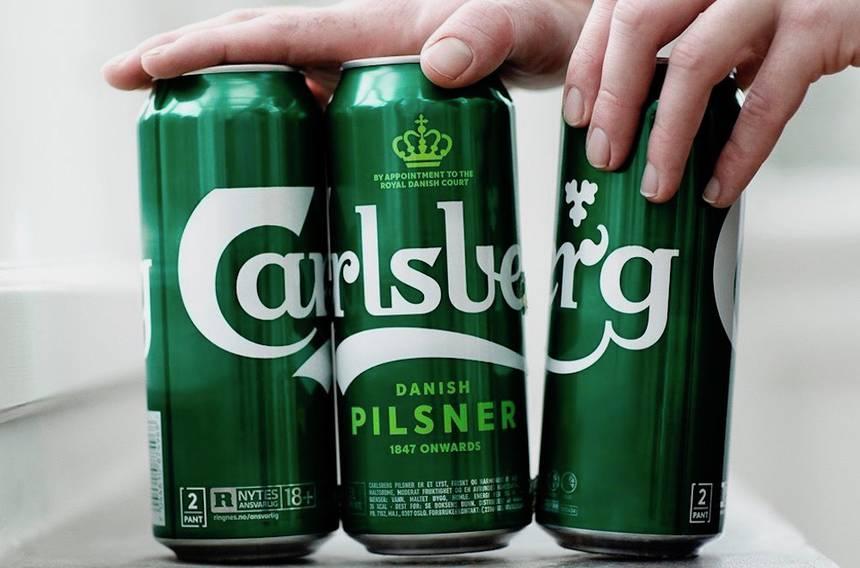 Carlsberg reemplazará anillos de plástico en sus cervezas con pegamento reciclable