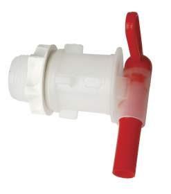 Llave de plástico para fermentador
