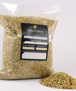 Malta de trigo oscura