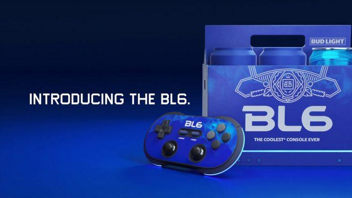 Bud Light consola videojuegos