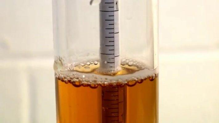 densímetro para elaboración de cerveza