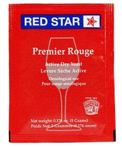 levadura para vino tinto red star premier rouge
