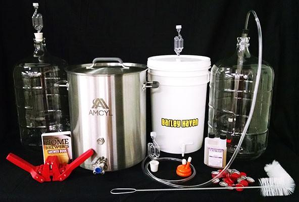 equipo para cerveza artesanal