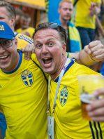 Fans suecos se tomaron toda la cerveza de una de las sedes del Mundial